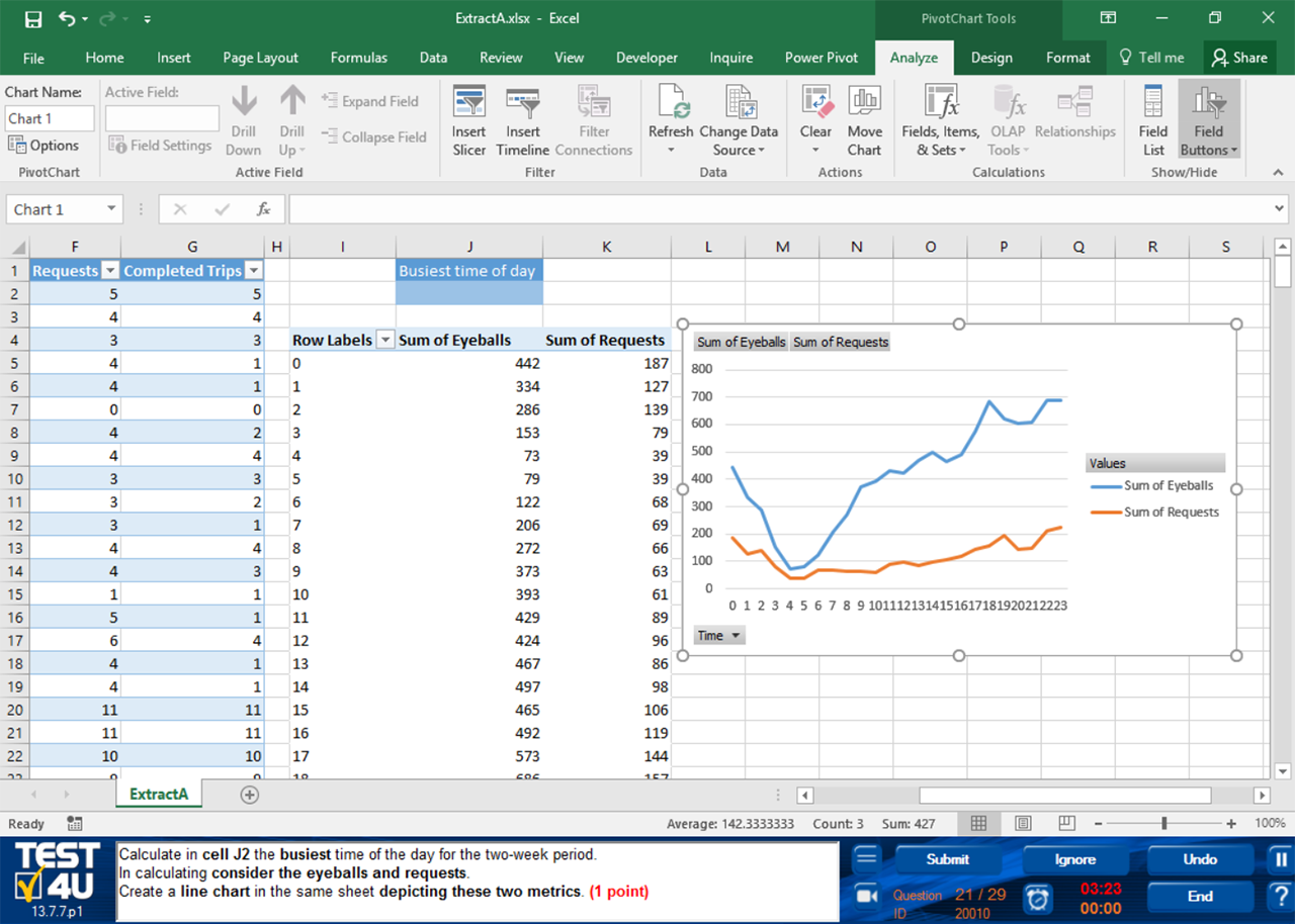 Excel Skills Test For Interview