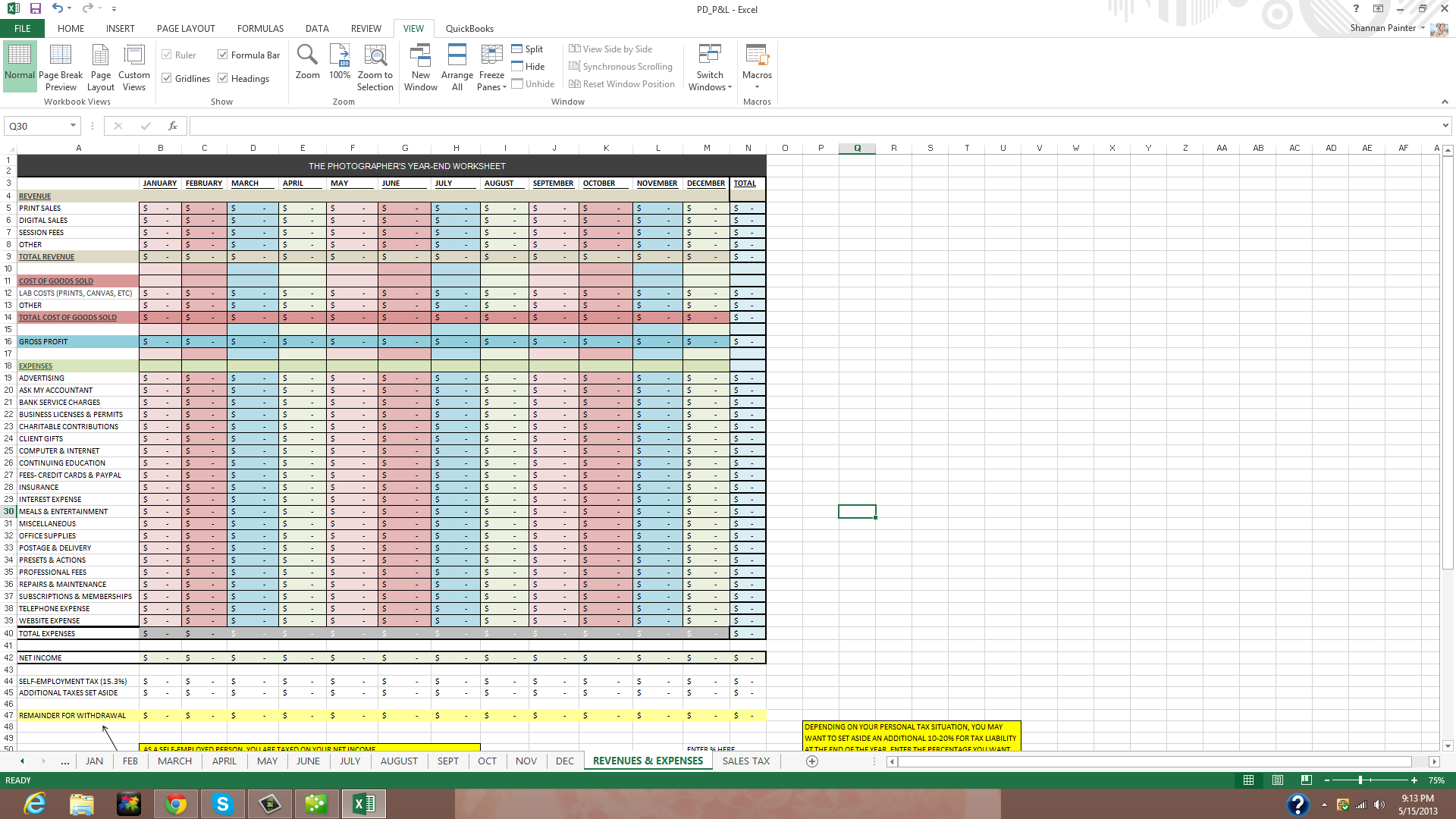 Free Client Tracking Spreadsheet