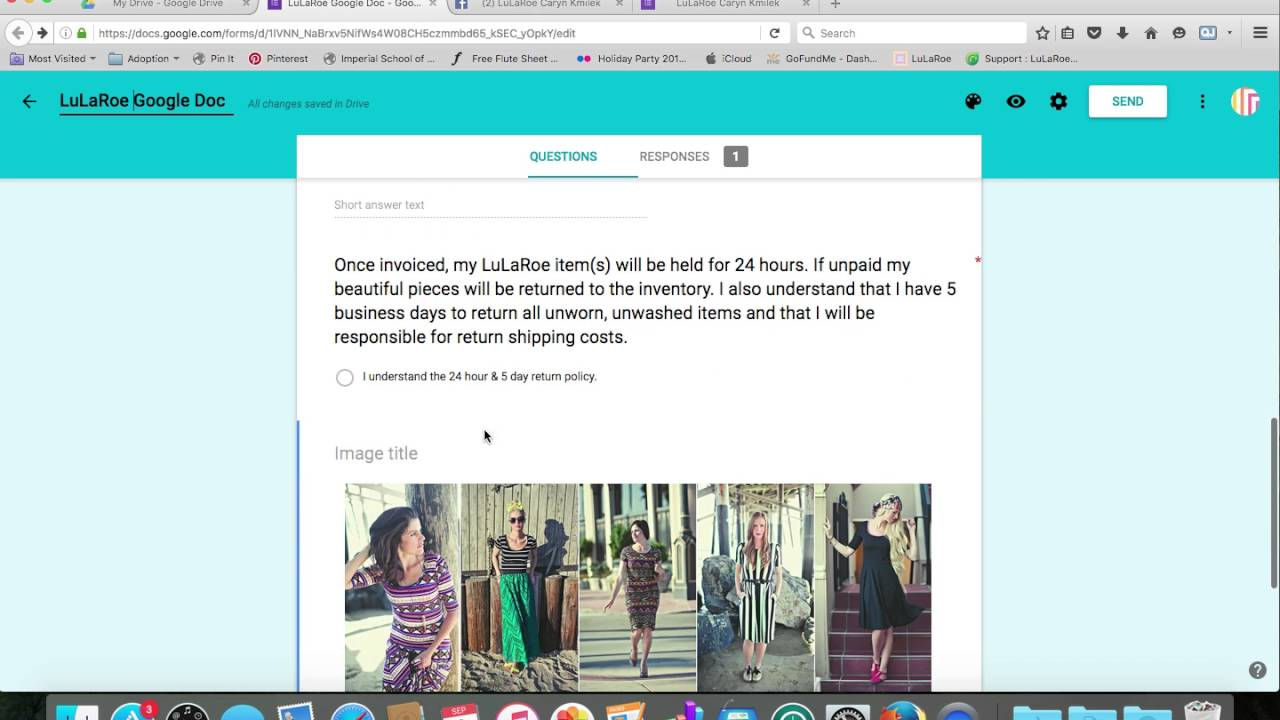 Inventory and Accounting for LuLaRoe