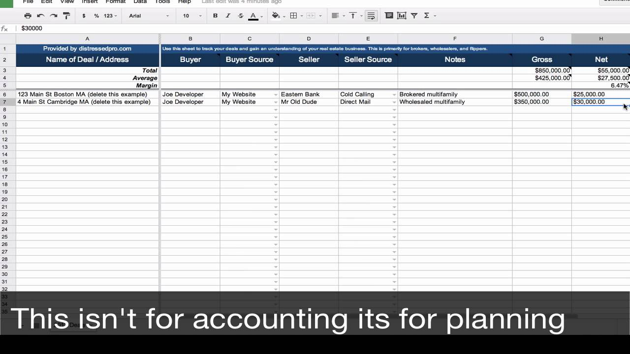 Prospect To Client Tracking Spreadsheet