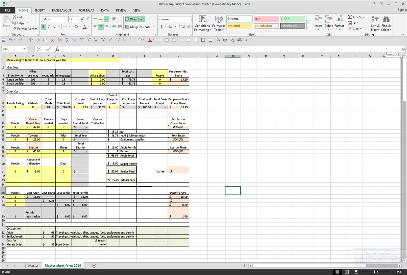 Trucking Expenses Spreadsheet And Mileage Tracking Spreadsheet