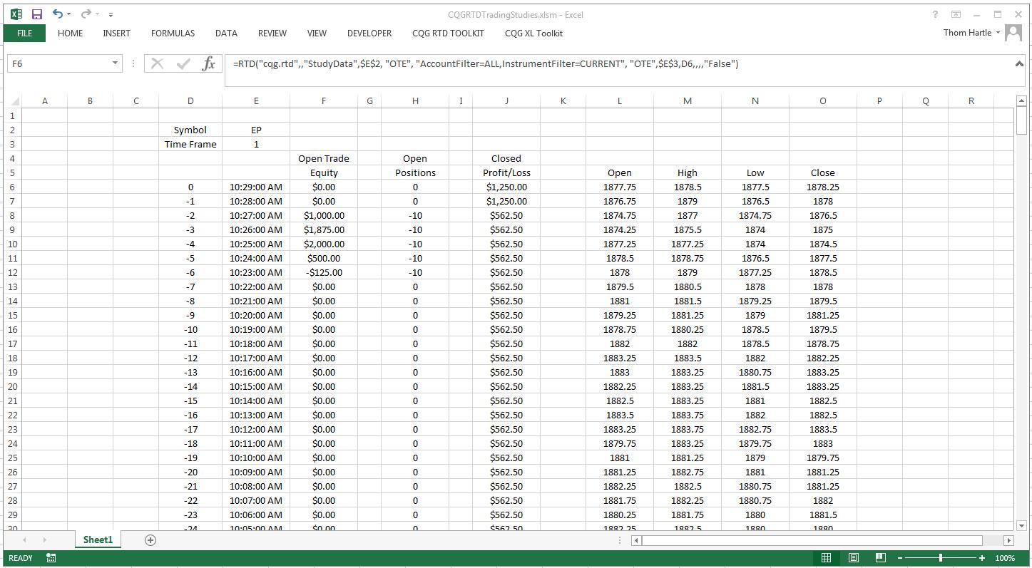 excel spreadsheet formulas list