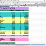 how to create a business budget spreadsheet
