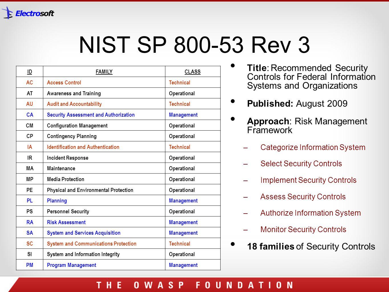 nist 800 53 checklist