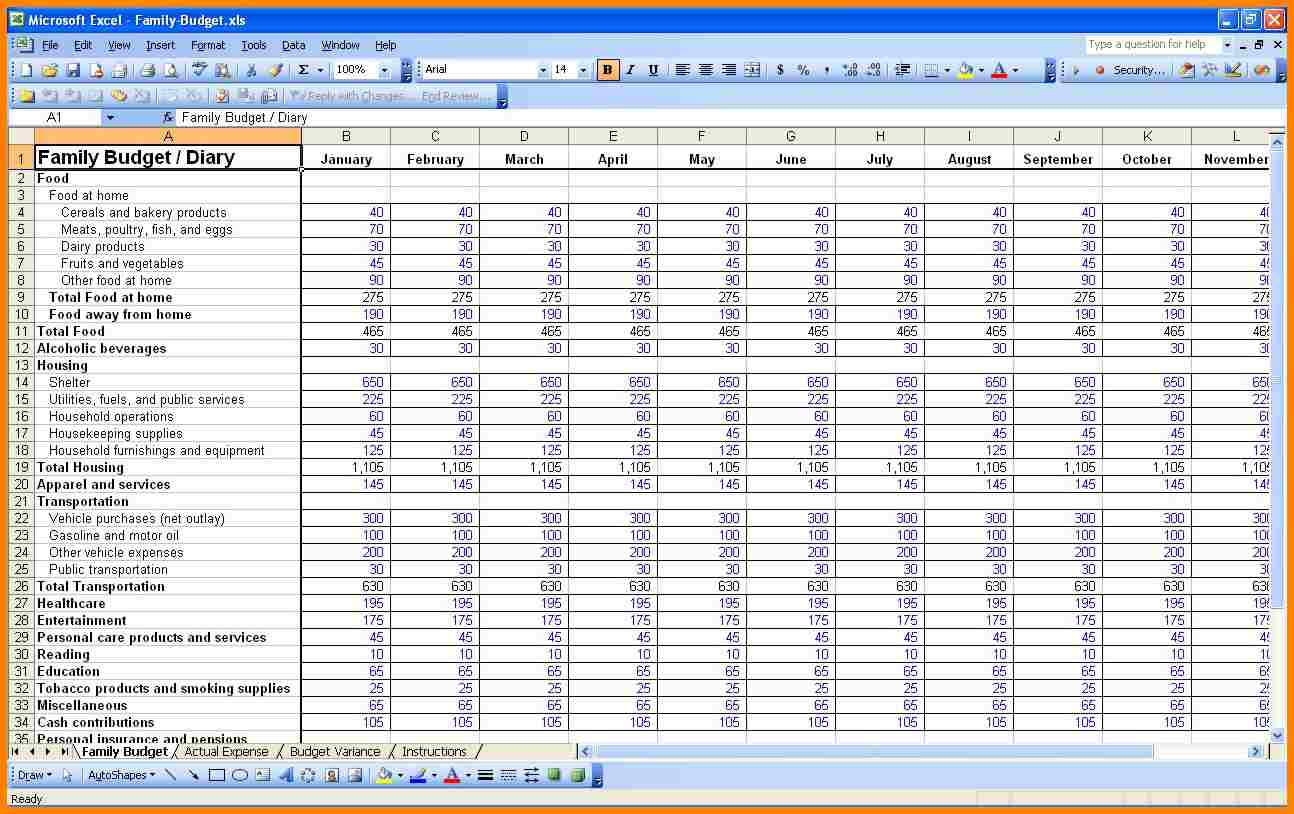 Best Wedding Budget Spreadsheet And Budget Spreadsheet Printable