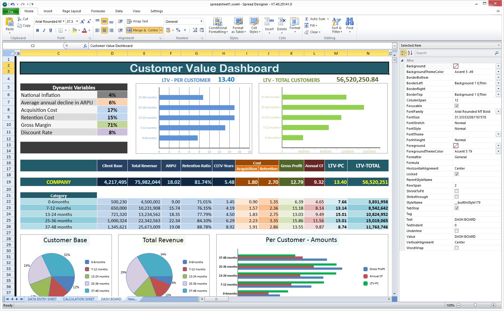 Components Of A Balance Sheet