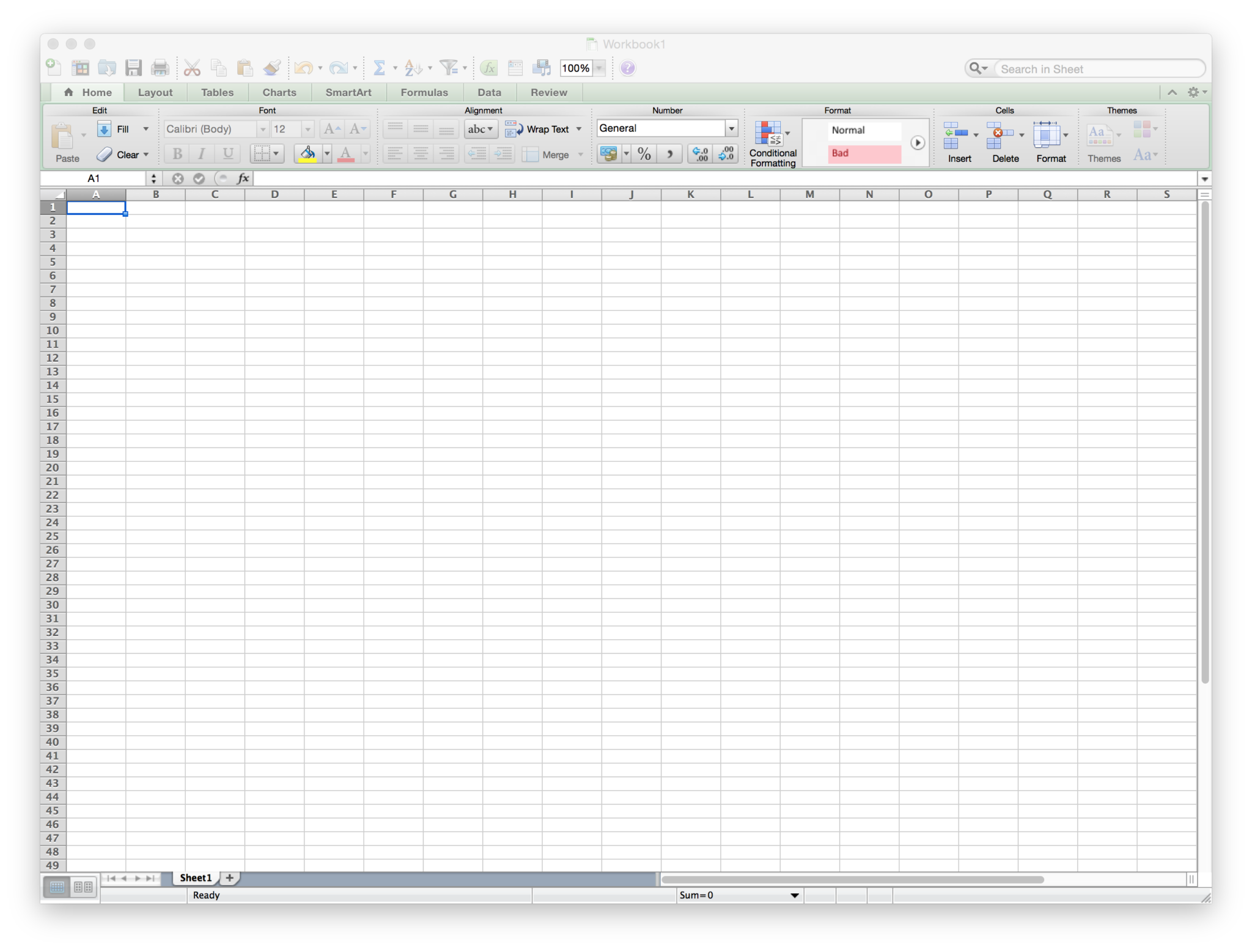 Components Of Spreadsheet