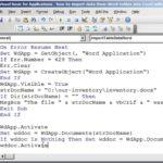 Convert Word Document Into Excel Spreadsheet