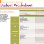 Dave Ramsey Budget Spreadsheet Template