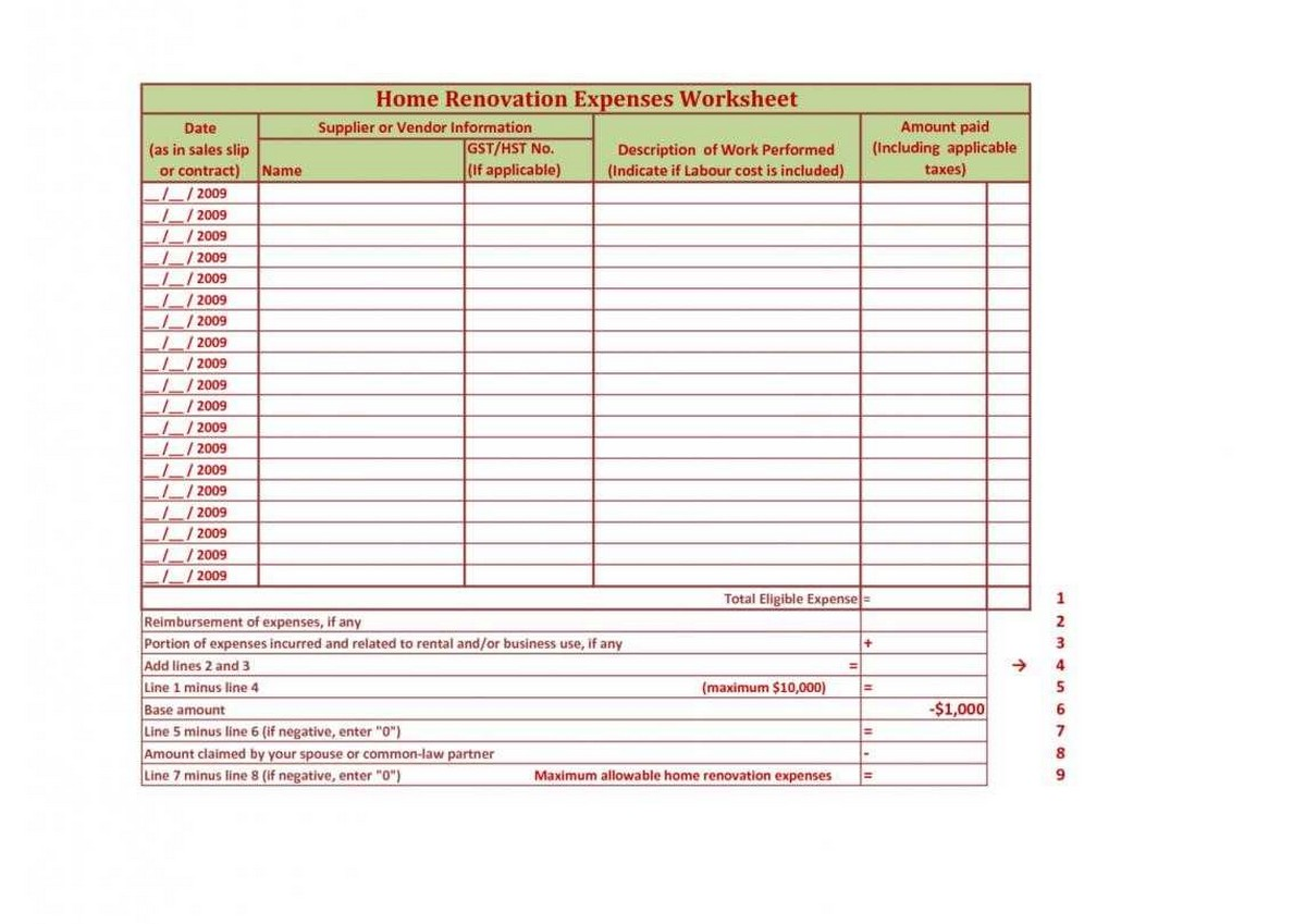Dave Ramsey Monthly Budget Spreadsheet