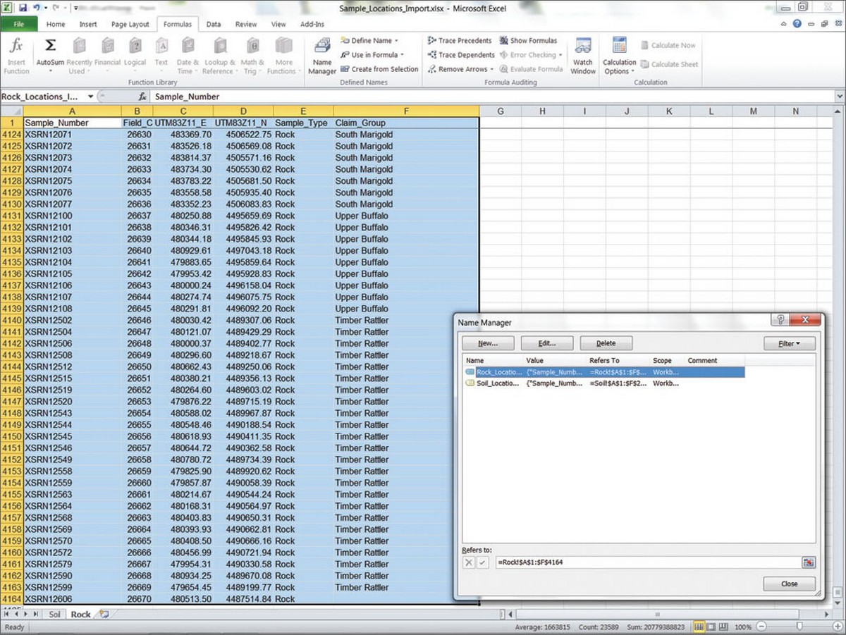 Define Spreadsheet Package