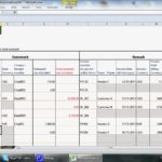 Examples Of Bookkeeping In Excel