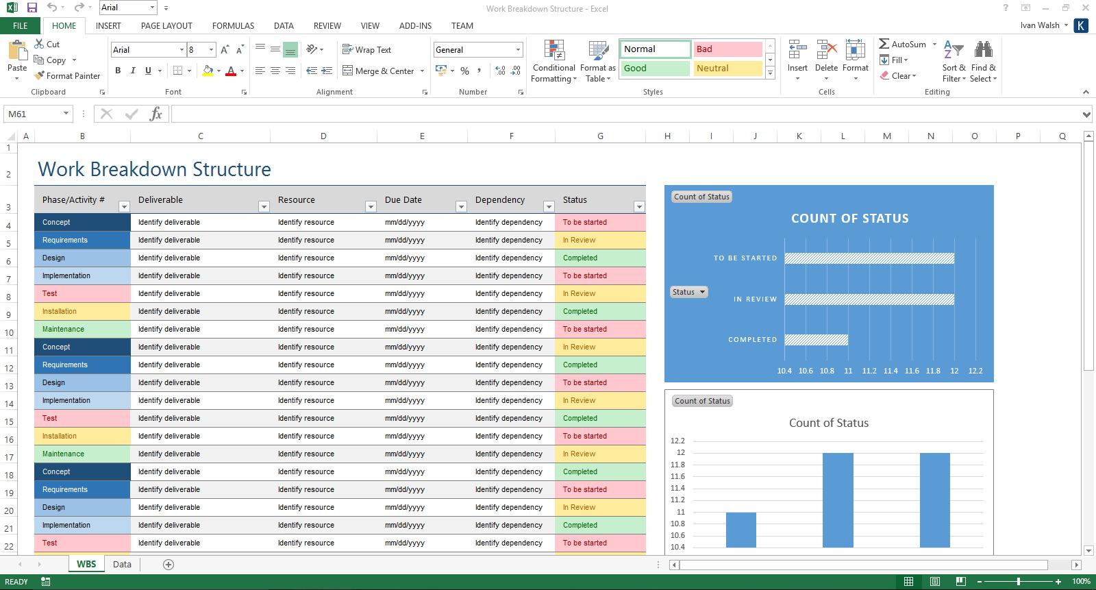 Excel Spreadsheet Validation
