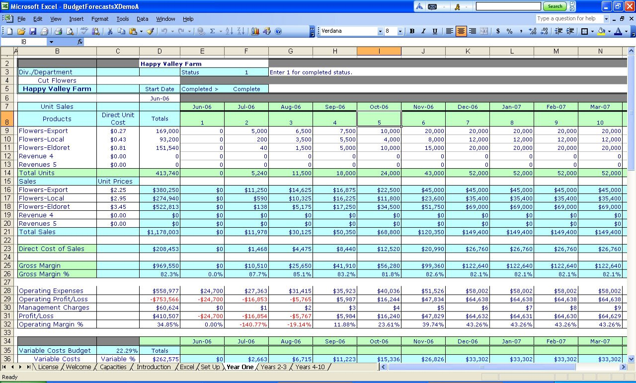 Expense Sheets For Small Business