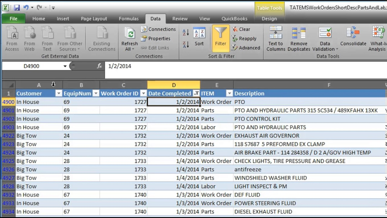 Fleet Management Spreadsheet Free Download