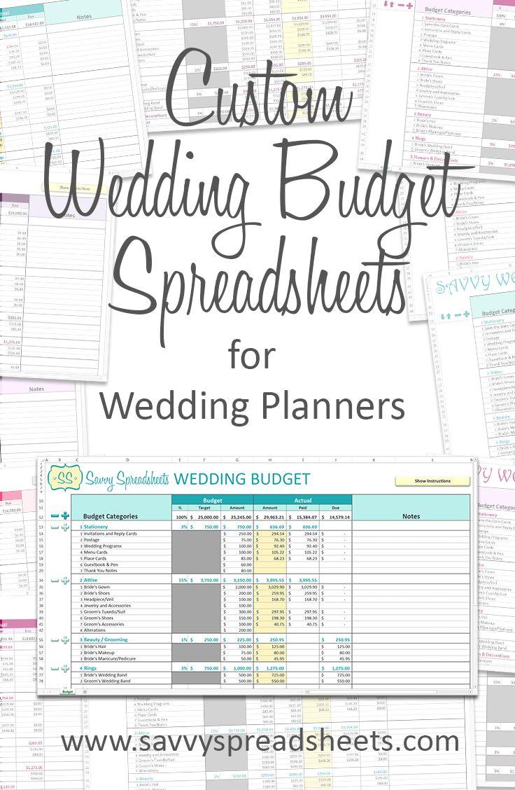 Free Online Wedding Budget Planner and Wedding Budget Spreadsheet Uk