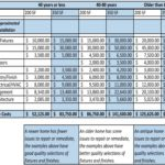 Home Renovation Budget Template Excel