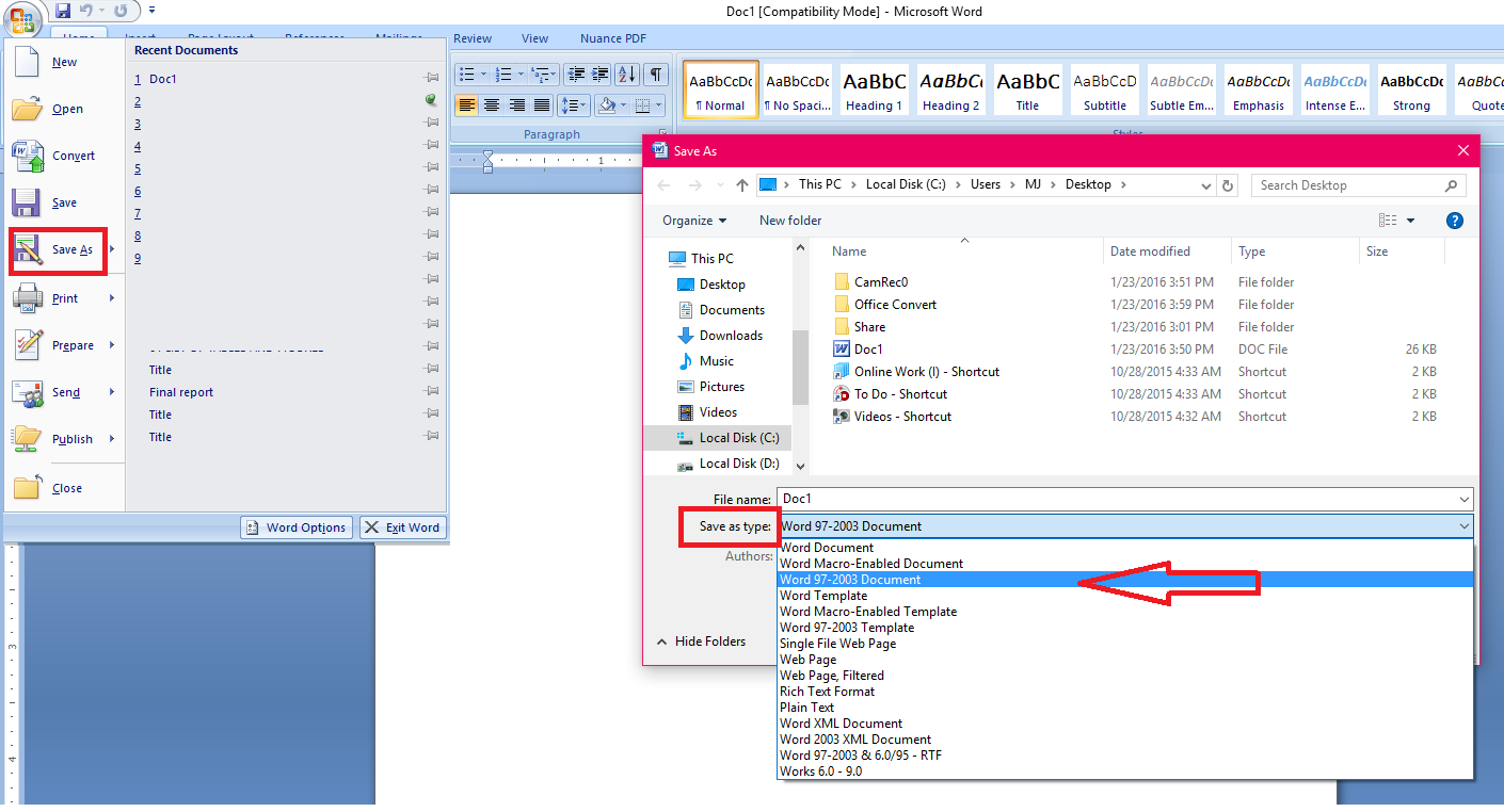 How To Convert Word File To Excel Format