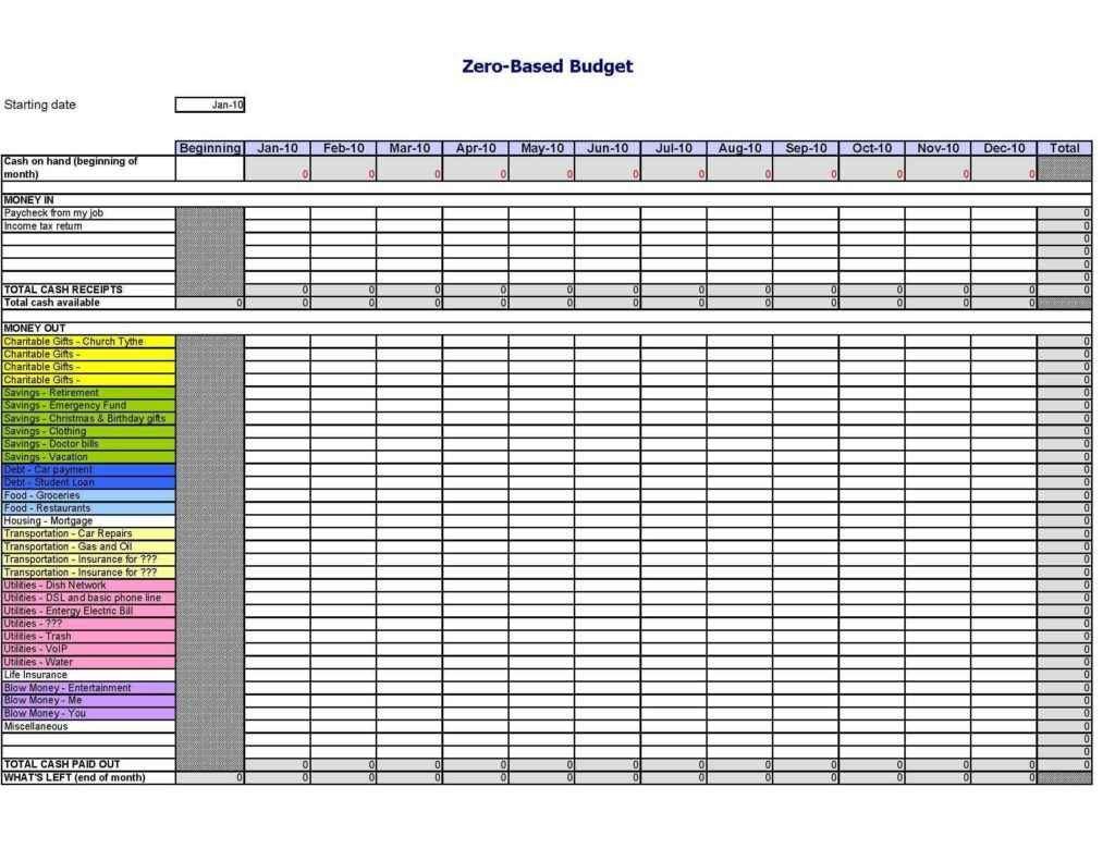 Landlord Tax Spreadsheet