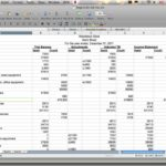 Personal Cash Flow Forecast Template And Cash Flow Projection Spreadsheet Template