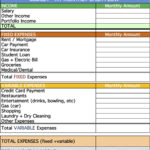 Personal Cash Flow Statement Template Excel Free