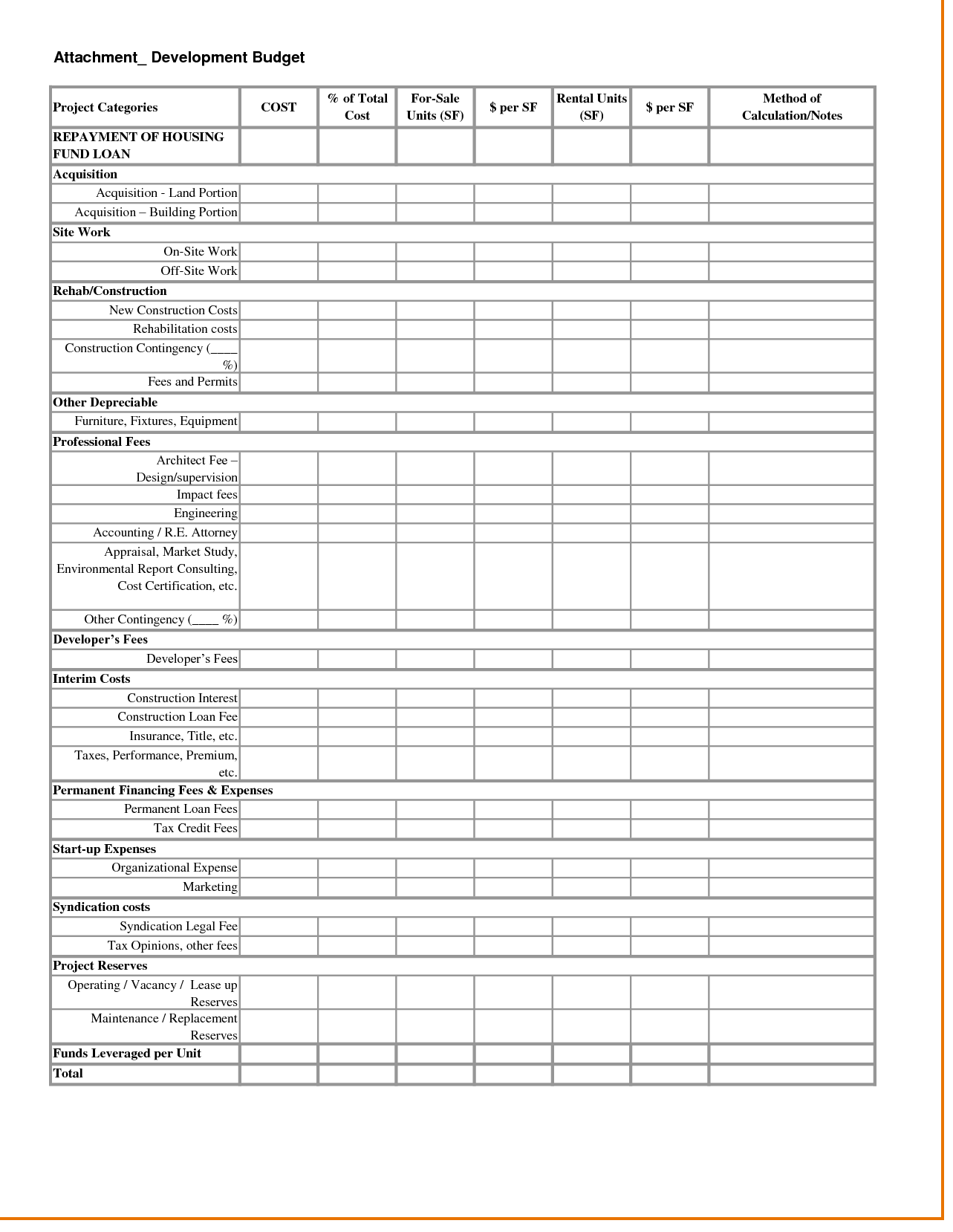 Property Management Spreadsheet Free