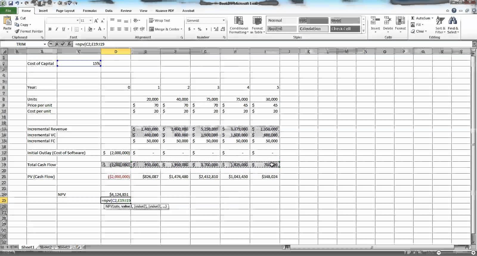 Sample Budget Forecast Spreadsheet