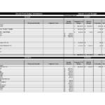 Sample Of Home Budget Spreadsheet