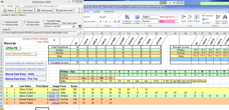 Scan Qr Code To Excel Spreadsheet