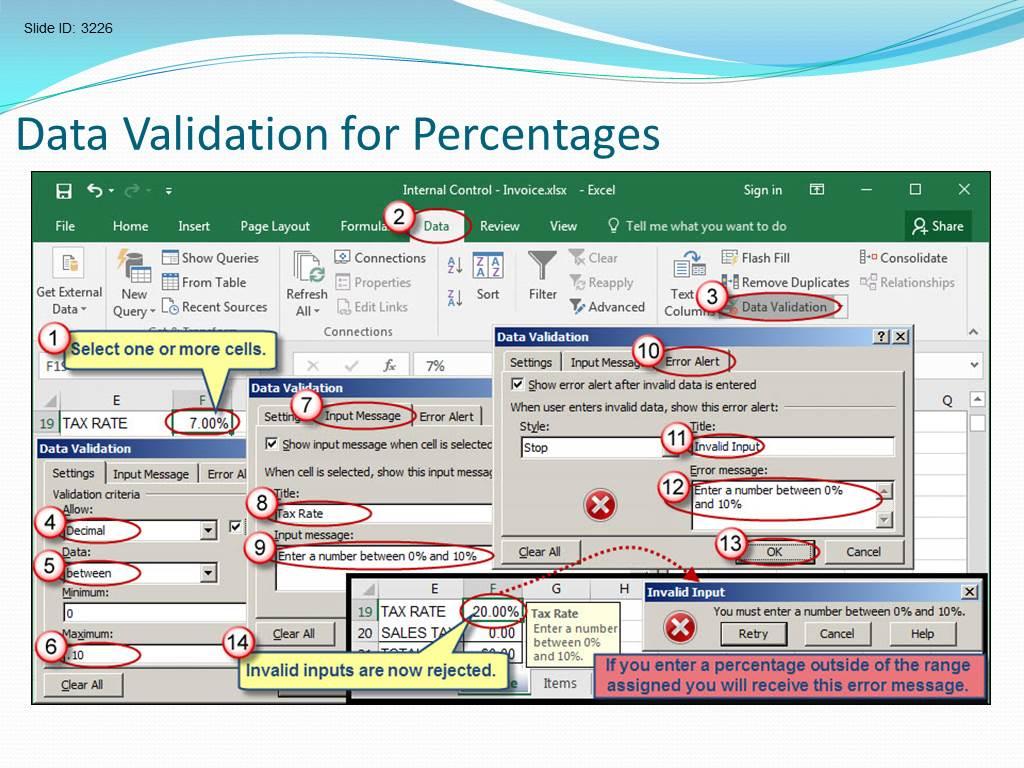 Spreadsheet Validation Protocol Example