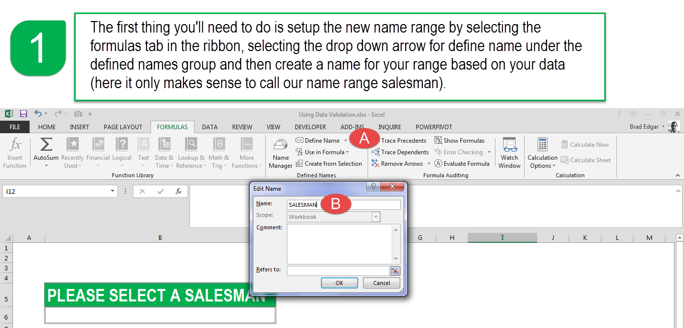 Validation Of Excel Spreadsheets Gmp