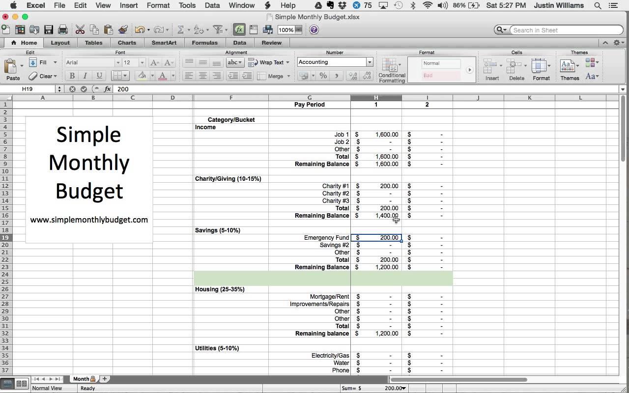 Dave Ramsey Budget Spreadsheet Download