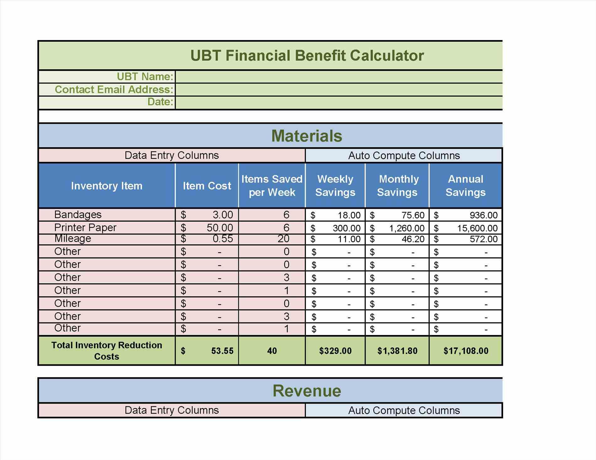 Planned Preventive Maintenance Spreadsheet