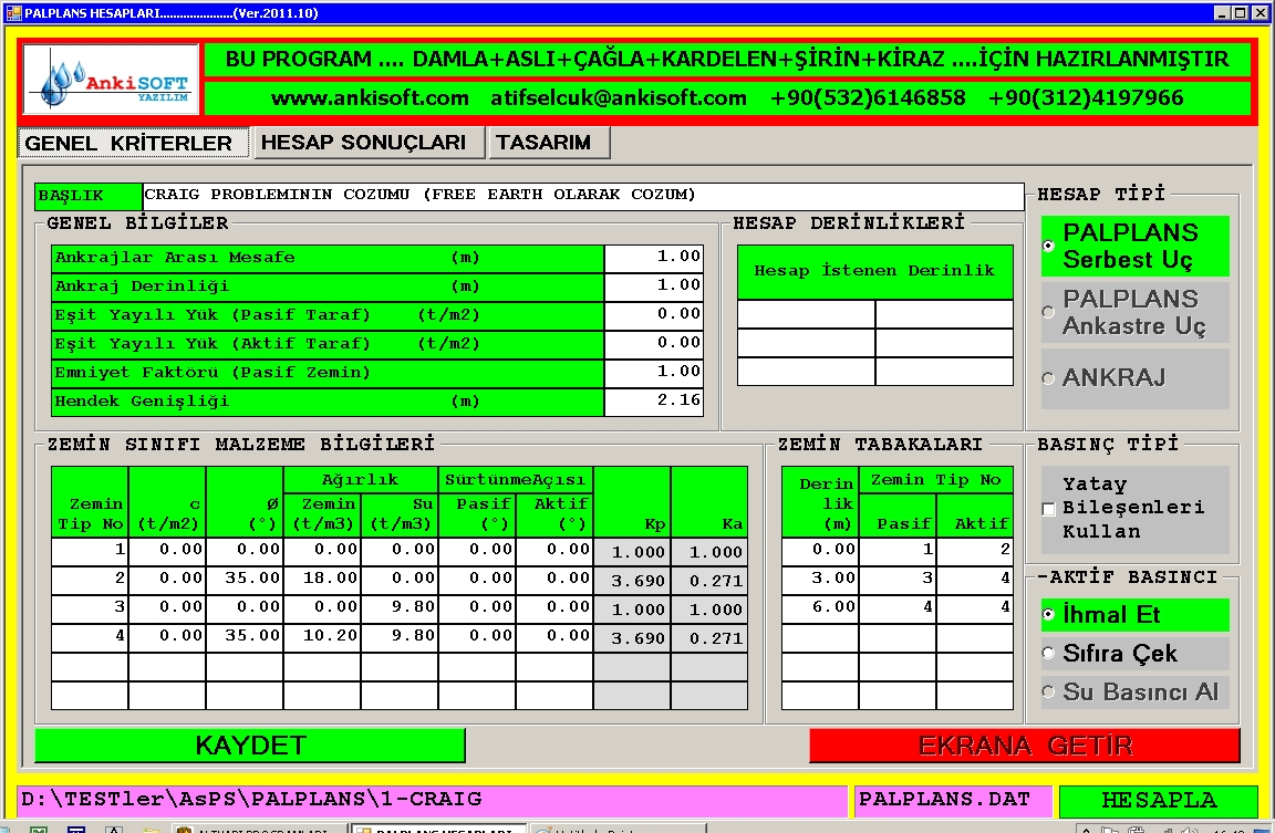 Soldier Pile Wall Design Spreadsheet And Preventive Maintenance Plan Format