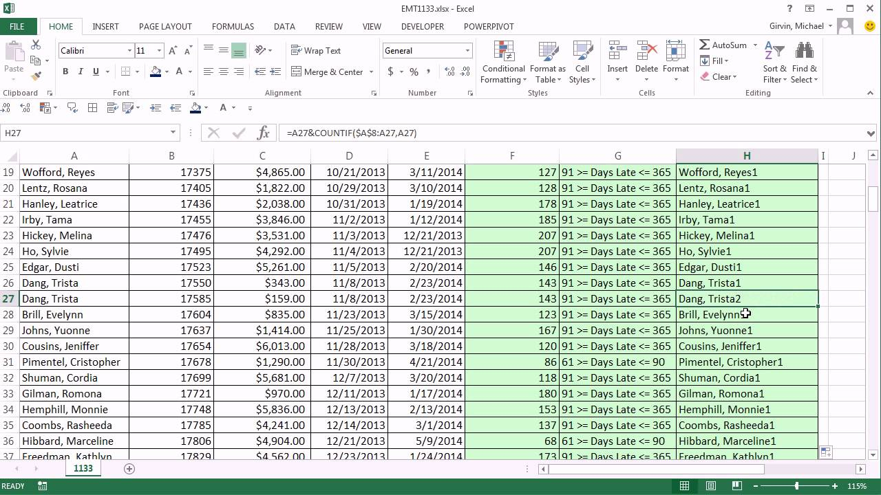 Accounts Payable Tracking Spreadsheet free download