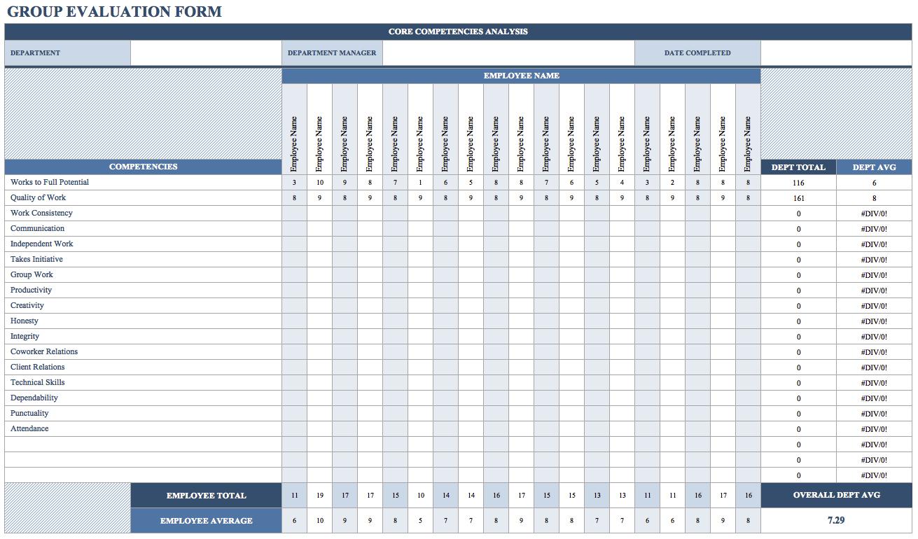Employee Training Tracking Template