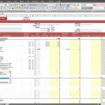 construction estimating spreadsheet