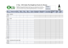 food log template excel