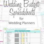 Download Free Printable Wedding Budget Spreadshee
