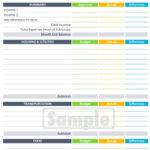Free Download Printable Wedding Budget Spreadshee