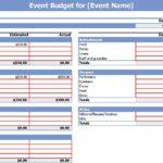 Free Party Expenses Spreadsheet Templates