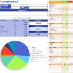 Free Templates Party Expenses Spreadsheet