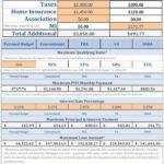 Home Loan Comparison Spreadsheet Templates Free