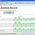 Party Expenses Spreadsheet Free Templates
