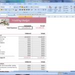 Printable Wedding Budget Spreadshee