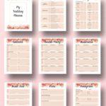 Template Printable Wedding Budget Spreadshee