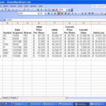 accounting in excel format free download