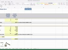 free jewelry inventory spreadsheet download