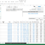 purchase order tracking spreadsheet template