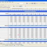 Templates Rental Property Expenses Spreadsheet